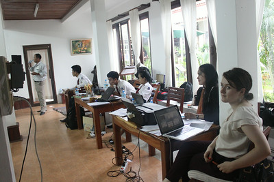 "Training of Trainers (TOT) Workshop to Build Capacity in Developing an ""All Stars"" Team of Trainer for FLP  CLE members. We have internship from difference college and university such as BABEA CLE Intern, Khon Kaen Interns, UWCSEA intern and FLP CLE students to facilitates and help our trainers for this workshop and such good learning and experiences for them."