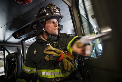 2013, Alum and Veteran Brian Shaw, currently a fire fighter in Bloomfield, NJ.