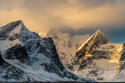 Mountains in the light