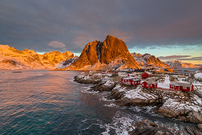 This photo was shot before the Lofoten February 2018 photo workshop.