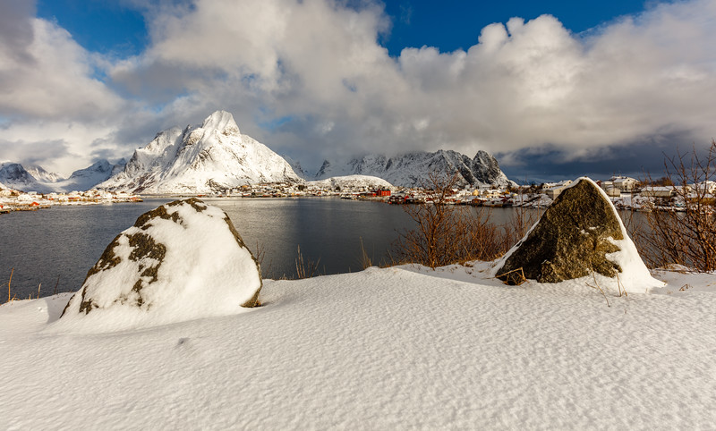 A view of Reine