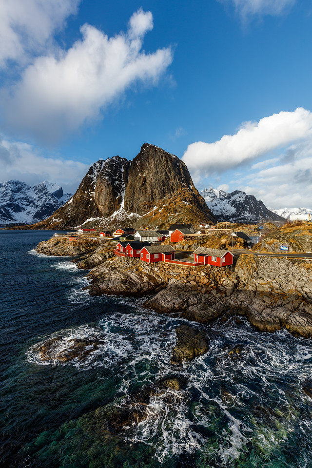 Red houses at Reine