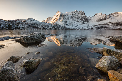 Morning at Storvatnet