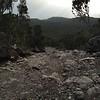 It's a long rocky road down...