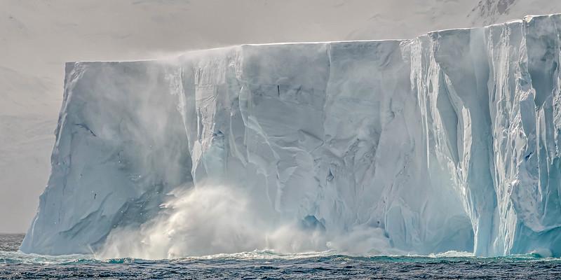 Tabular Iceberg - Flandres Bay