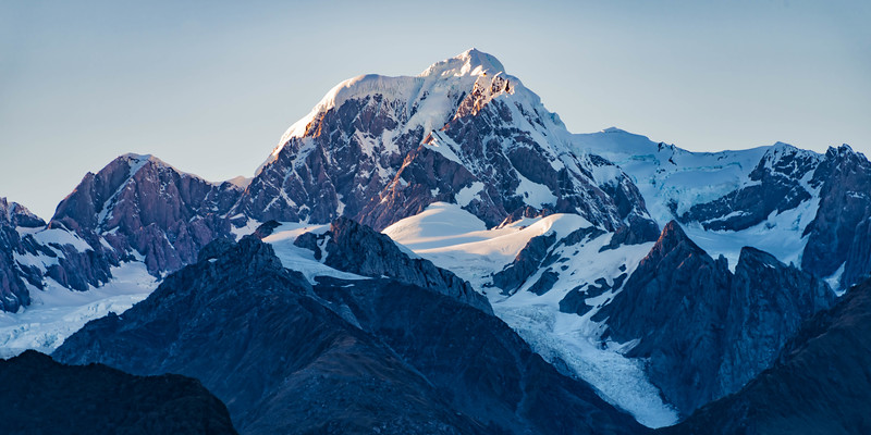 Mount Cook from Lake Matheson