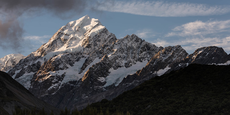 Aoraki-Mount Cook from Hooker Valley