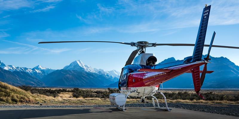 Aoraki-Mount Cook Heli, After the Flight
