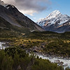 Mount Cook from Hooker Valley
