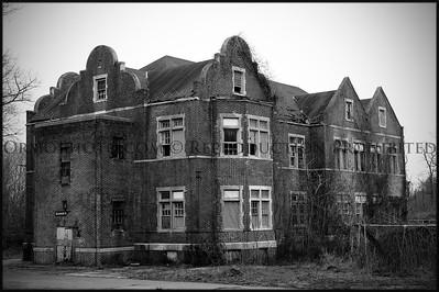 Quaker Hall, Pennhurst State School & Hospital