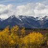 Snow-frosted Teton Range