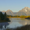 Mount Moran view from Oxbow Bend
