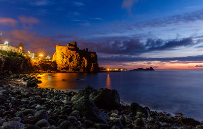 Morning at Aci Castello