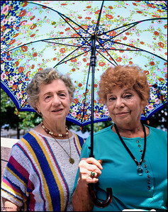 2 ladies umbrella nyc 84