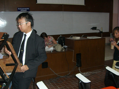 2009 Thailand CMU Legal Clinic Mock Trial