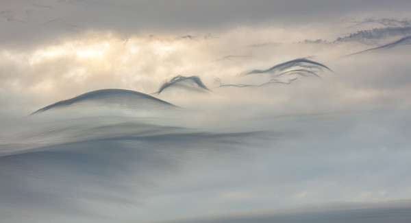 Clouds and landscape