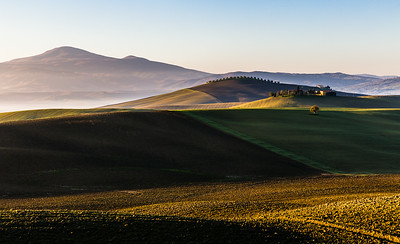 November landscape in Tuscany