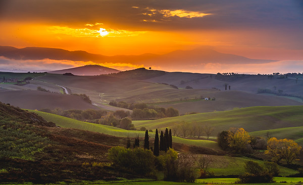 Morning light at Belvedere