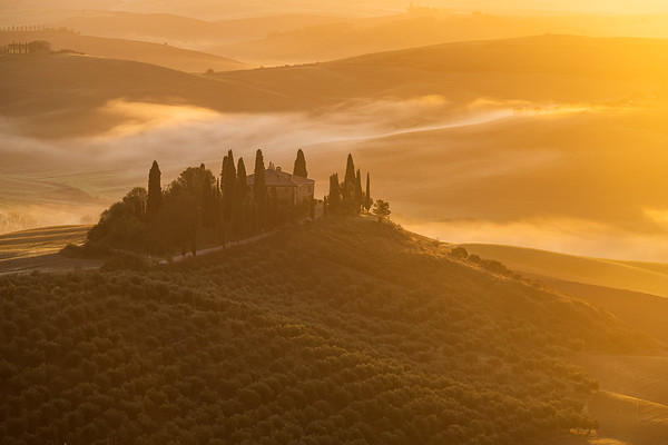 Morning in Val d'Orcia