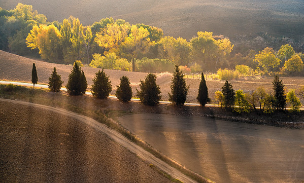 Autumn light in Tuscany