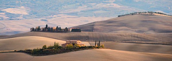 Rolling Hills in Val d'Orcia