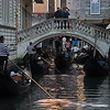 Stau in Venedig