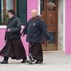 Mönche auf Burano