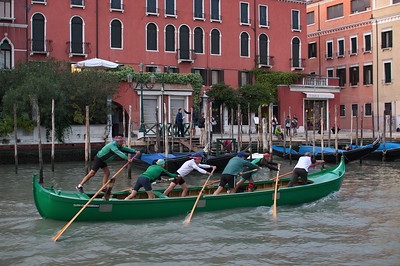 Training on Canale Grande