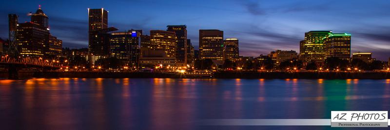 City Skyline, Portland, Oregon.