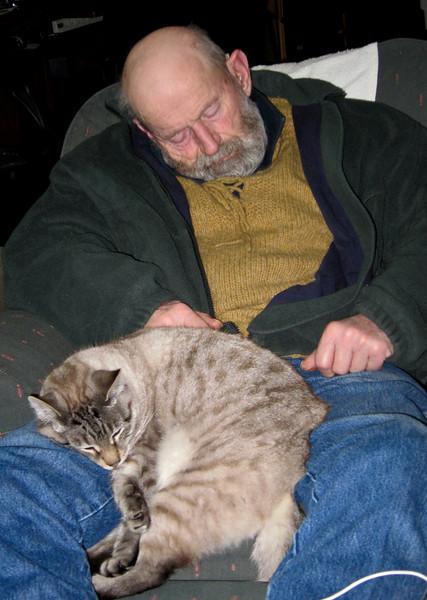 Old Man, Old Cat.