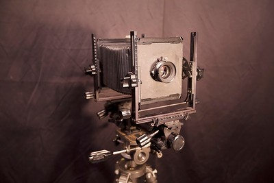 4x5 inch large format camera