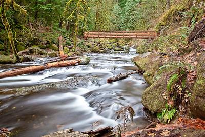 Bridge over Oneonta Creek