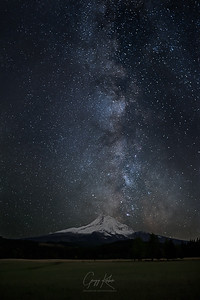 Milky Way over Mt Hood (1)