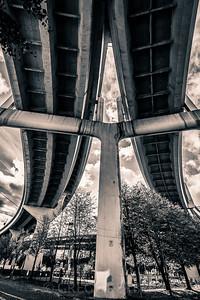 Curves of the Freemont Bridge Ramps