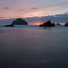 Bandon Beach at sunset