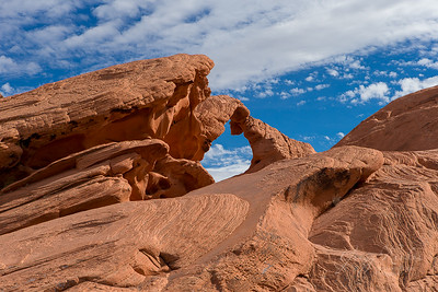 Natural Arch, Valley of Fire