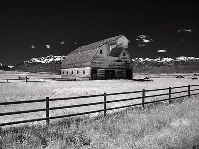 Joseph, Oregon (infrared image)