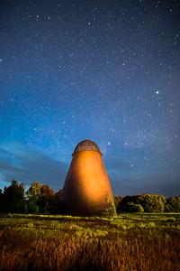 Wigwam under the stars