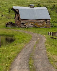Barn near Enterprise