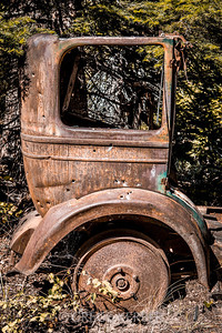 Old car in Cornucopia