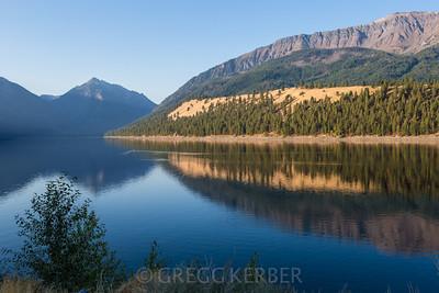 Morning light on Wallowa Lake