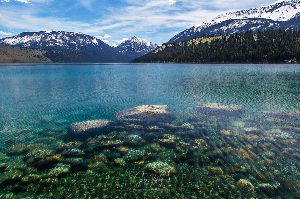 Wallowa Lake and the Wallowa Mountains