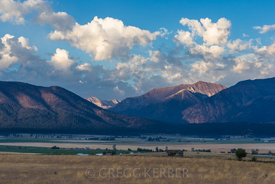 Wallowa sunrise, Sept 2012.