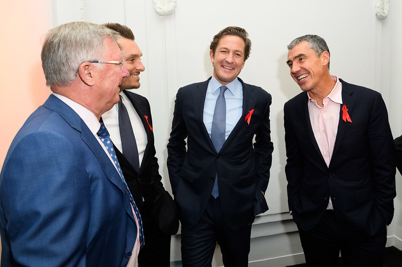 Grassroot Soccer World AIDS Day Gala raised £600,000 to educate, inspire, and mobilise young people in developing countries to live healthier lives. Held at 8 Northumberland Avenue, London 1 December 2017.