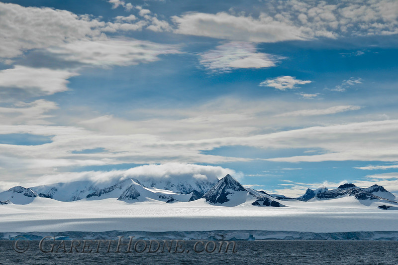 Antarctic Peninsula from the Bransfield Strait