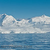 The Antarctic Peninsula from the Gerlache Strait.