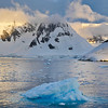 The Antarctic Peninsula from the Lemaire Channel.
