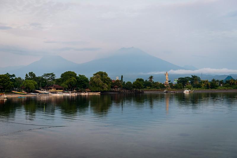 Bay near Bali Barat National Park.
