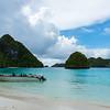 Beach Landing Wayag Island