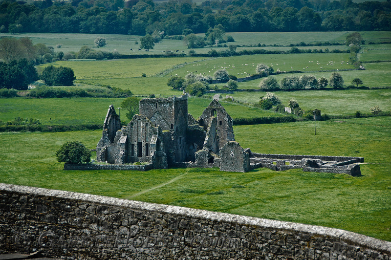 Monastery Ruins below the Rock of Cashel